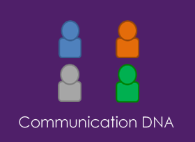 Communication DNA Tile Icon for Salesforce App