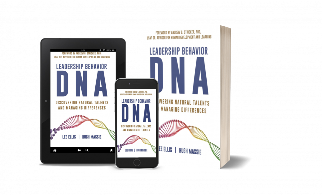 Leadership Behavior DNA Book iPad Kindle and iPhone